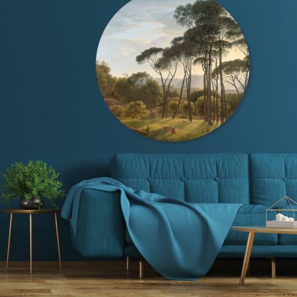 Behangcirkel-Italiaans-landschap.jpg