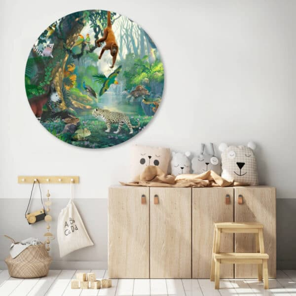 Rainforest-cirkelbehang-muurcirkel.jpg