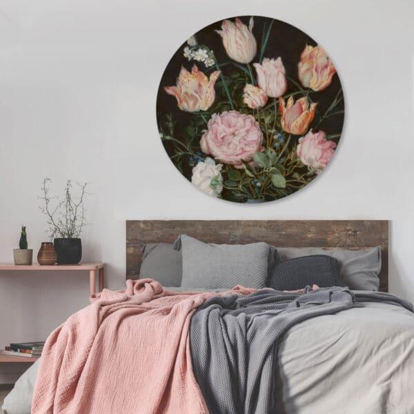 behangcirkel-roze-bloemen-zwarte.jpg