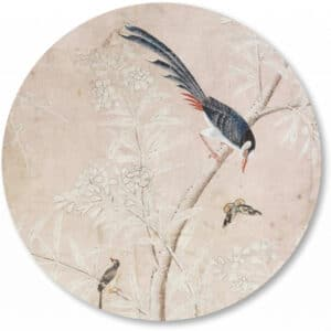 Wandcirkel-chinese-vogels-vogelbehang.png